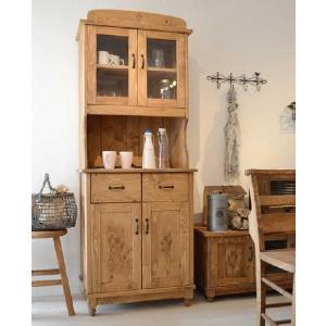 食器棚 キッチン収納 カントリー調キッチンボード フィオ|cozyroom