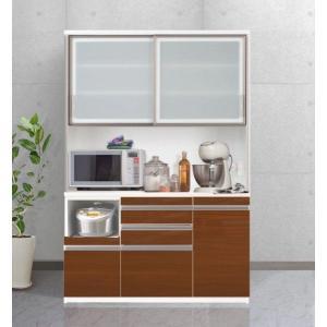 食器棚 キッチン収納 キッチンボード エスコート 140cm 6色|cozyroom