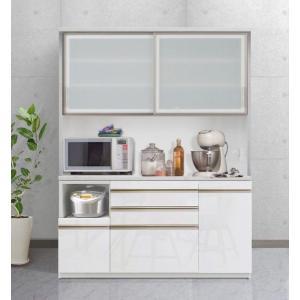 食器棚 キッチン収納 キッチンボード エスコート 160cm 6色|cozyroom