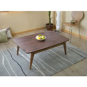 こたつテーブル ローテーブル リビングテーブル ウォールナット 長方形|cozyroom