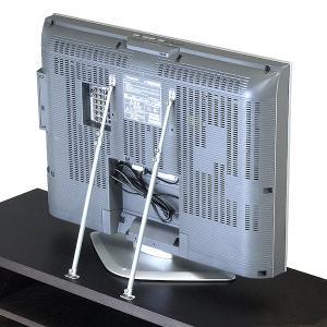 薄型テレビ 耐震 転倒防止ステー 金具 耐震補強|cozyroom