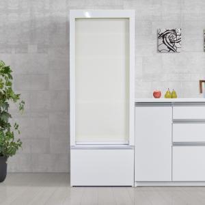 レンジ台 ロールスクリーン付 シェイド 家電収納 国産 幅60cm|cozyroom