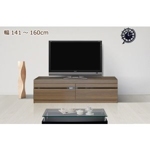 セミオーダー ローボード テレビ台 幅141〜160cm|cozyroom