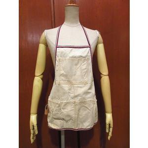 ビンテージ●キャンバスワークエプロン●210102f1-apr古着小物ファッション雑貨|cozyvintage