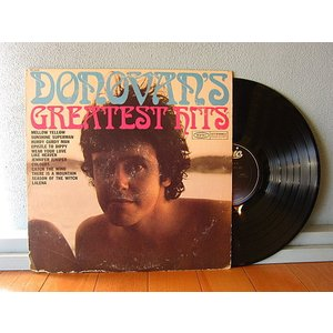 DONOVAN●DONOVAN'S GREATEST HITS Epic PE 26439●210106t1-rcd-12-rkレコード米盤米LPロックドノヴァンベストリイシュー cozyvintage