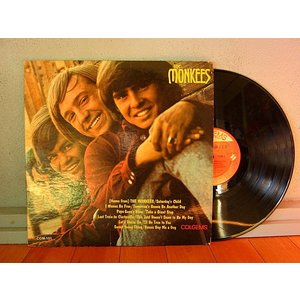The Monkees●The Monkees COLGEM COM-101●210110t1-rcd-12-rkレコード米盤米LPモンキースロック60'sオリジナル cozyvintage