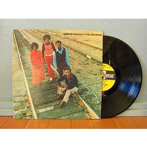 ANDRAE CROUGH & THE DISCIPLES●SOULFULLY LIGHT RECORDS LS-5581●210111t1-rcd-12-fnレコード米盤米LPソウルファンク cozyvintage