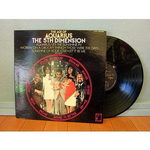 THE 5TH DIMENSION●THE AGE OF AQUARIUS SOUL CITY SCS-92005●210111t3-rcd-12-fnレコード米盤米LPソウル69年60's US盤 cozyvintage