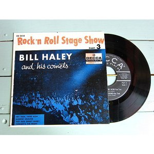 BILL HALEY and his comets●Rock'n Roll Stage Show PART 3 DECCA ED 2418●210111t4-rcd-7-rkレコード米盤ロカビリー50's cozyvintage