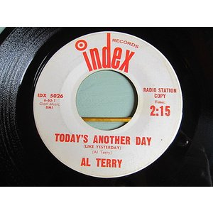 AL TERRY●TODAY'S ANOTHER DAY/BOURBON STREET PARADE Index RECORDS IDX 5026●210119t1-rcd-7-cf米盤US盤カントリー45 cozyvintage