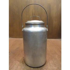ビンテージ●LEYSEアルミミルク缶●210121n6-otclct キャニスター入れ物牛乳 cozyvintage