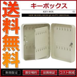 キーボックス 48個収容 小型 鍵保管庫 鍵保管棚 キーラック 壁掛け|cpfyell