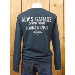 MWS  GARAGE 長袖Tシャツ ブラック  No.1015702|craft-ac