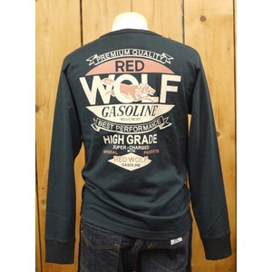 MWS RED WOLF GASOLINE 長袖Tシャツ ブラック No.1115704|craft-ac