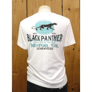 MWS BLACK PANTHER MOTOR OIL Tシャツ ホワイト No.1815707|craft-ac