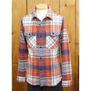 ウエス ネルシャツ UES エクストラヘビーネルシャツ レッド No,501554|craft-ac