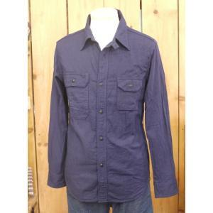 ウエス UES インディゴドビーワークシャツ No,501603|craft-ac