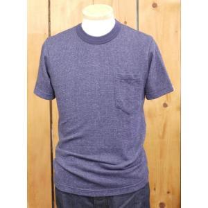 ウエス UES セミジャガードポケットTシャツ ネイビー No.651649|craft-ac