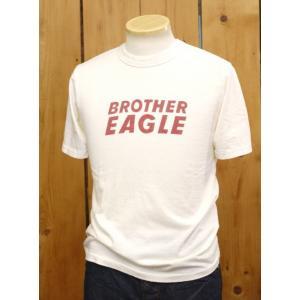 ウエス ues EAGLE Tシャツ オフホワイト  No,651738|craft-ac