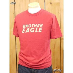 ウエス ues EAGLE Tシャツ レッド  No,651738|craft-ac