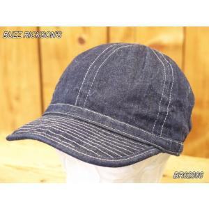 バズリクソンズ アーミーデニムキャップ BUZZ RICKSON'S BR02308|craft-ac