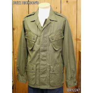 バズリクソンズ COAT MAN'S COMBAT TROPICAL フィールドジャケット BR12247|craft-ac