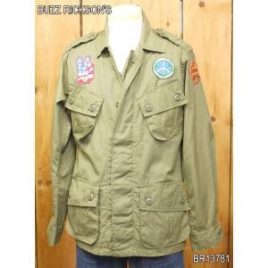 バズリクソンズ COAT MAN'S COMBAT TROPICAL カスタムフィールドジャケット BR13781|craft-ac