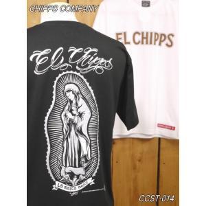 チップスカンパニー MARIA FULL Tシャツ CCST-014 ホワイト ブラック Cipps Company|craft-ac