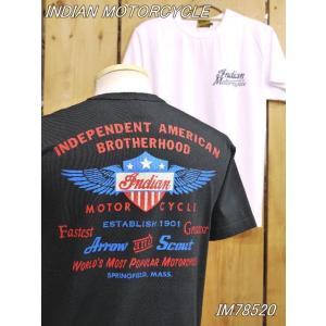 インディアンモーターサイクル Tシャツ ARROW & SCOUT Tシャツ IM78520 東洋エンタープライズ|craft-ac