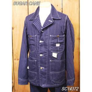 シュガーケーン 9oz.ウォバッシュワークコート sugarcane カバーオール sc14372|craft-ac