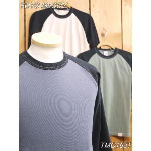 トイズマッコイ Tシャツ TMC1631 McHILL SPORTS WEAR クロップドラグランTシャツ キャロット アイボリー グレー オレンジ|craft-ac