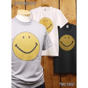 トイズマッコイ スマイルTシャツ TMC1802 ウィー スマイルモアTシャツ アッシュ オフホワイト ブラック craft-ac