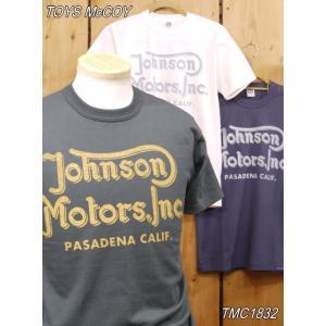 トイズマッコイ Tシャツ TMC1832 ジョンソンモータース INC TEE JOMO|craft-ac