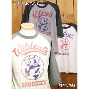 トイズマッコイ TMC1944 フィリックスワイルドキャッツベースボールTシャツ|craft-ac