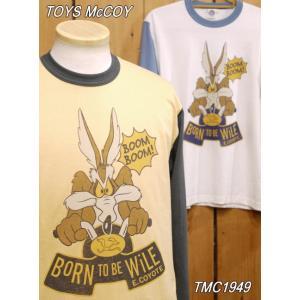 トイズマッコイ TMC1949 ボーン・トゥ・ビー・ワイリーイーコヨーテ ロングTシャツ|craft-ac