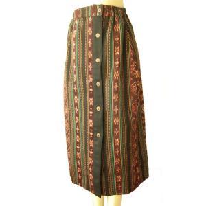 オールドイカット スカート ロング丈 きゃら オリジナル