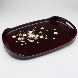 小判型長手盆 さくら 15号|craft-crowd