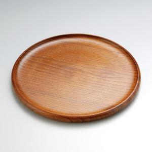 木製くりぬき丸盆 1尺|craft-crowd