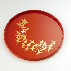 丸盆1尺 千羽鶴|craft-crowd