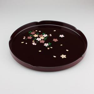丸盆 桜 10号|craft-crowd