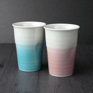 九谷焼 ペアフリーカップ みやび2個セット 化粧箱入|craft-crowd