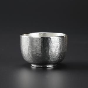 周年記念 お祝い 創立記念 創業記念 還暦祝い 退職記念 大阪錫器 「錫製 ぐい呑み 2個入 桐箱入」|craft-crowd