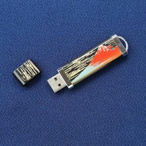 漆芸USBメモリー 赤富士|craft-crowd