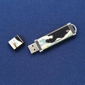 漆芸USBメモリー 波に富士|craft-crowd