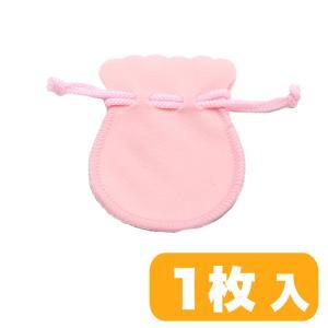ポーチ S スエード調 ピンク