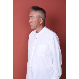 立襟シャツ craft-style