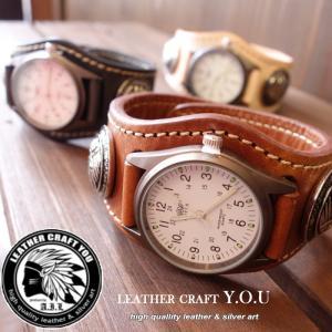 レザーウォッチ/腕時計/文字盤/サドルレザー/レザー/ブレスウォッチ/本革/牛革/watch-pl001|craft-you
