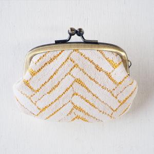 poussette(プセット) がまぐち2.9寸 Herringbone Rashel Lace ヘリンボーン ラッセルレース|craftcafe