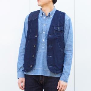graphzero(グラフゼロ) ハンティングベスト 斜子織り メンズ|craftcafe
