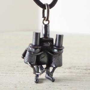 ブロンズ造形作家・コイズミタダシ コビトのネックレス 「温もり感じて。」|craftcafe